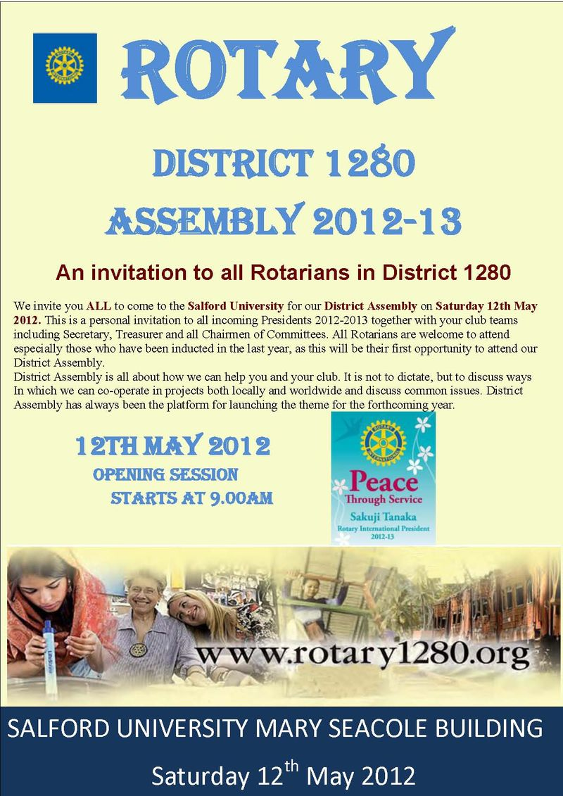 District Assembly 2012 ad