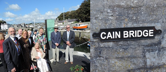 Cain Bridge naming - Rotary Club of Rushen & Western Mann Sept 2014 (compressed photo)