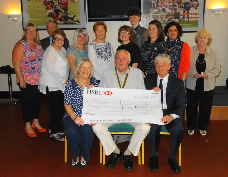 20150615 Dragons Den cheques