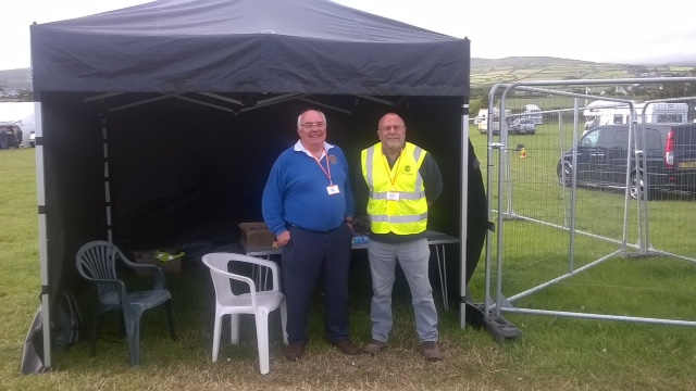 Deep South Festival - July 2015 - Rotary Helps Out on Gate Duty