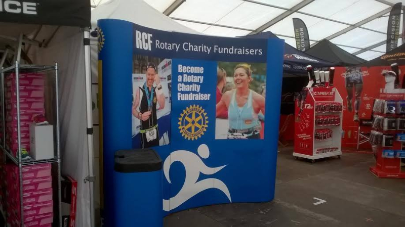 Rotary at IronmanUK EXPO 2016