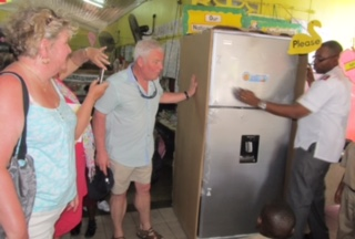 Freezer for Jamaica infant school