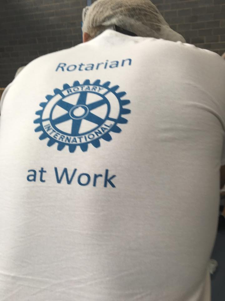 Rotarian at work