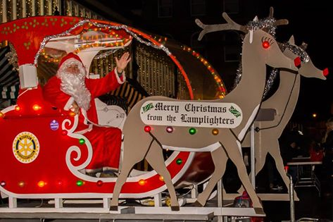 Stockport lamplighter rotary sleigh 2016