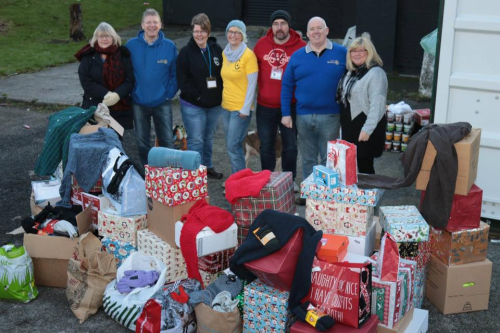 Worsley Rotary Reverse Advent Calender Delivery