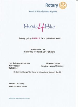 Purple4polio tea party 2017