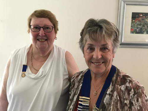 New Wigan Rotary President