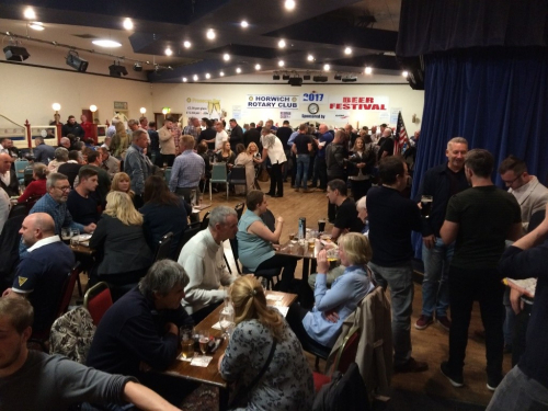Horwich Rotary Beerfest 2017 2
