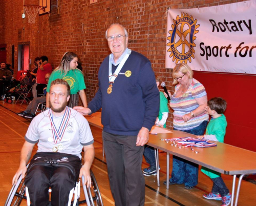 Rotary 1285 disabled sports 2017 1