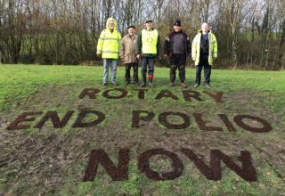 2017-11-23 Rotary End Polio Crocus Planting