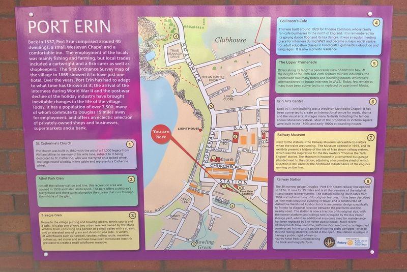 Port Erin Sign April 2016