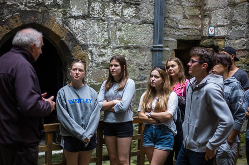 Rotary District 1285 Summer Camp 2016 at Castle Rushen, Castletown Isle of Man - 22 July 2016