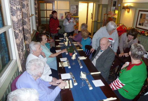 Xmas Senior Party 2016