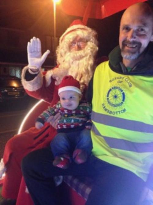 Ramsbottom Rotary Santa 2016