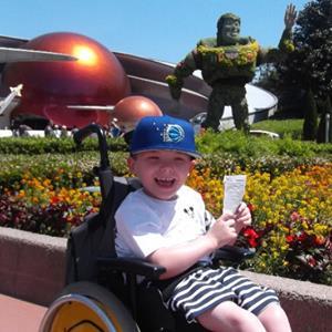 Alfie's New Wheelchair