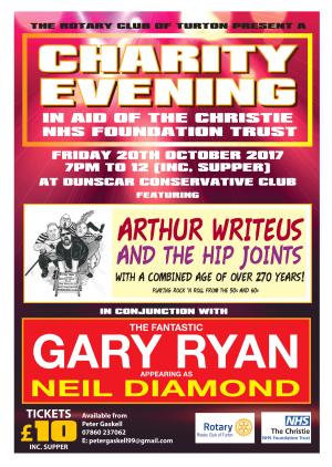 Turton Charity Evening