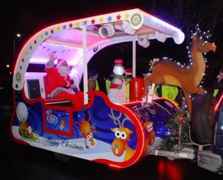 Rotary's Santa Sleigh