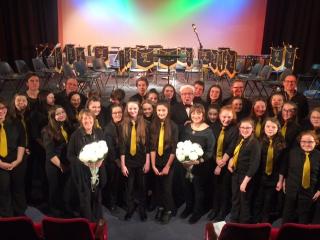 Eaton Bank Encore Choir at the Daneside Theatre