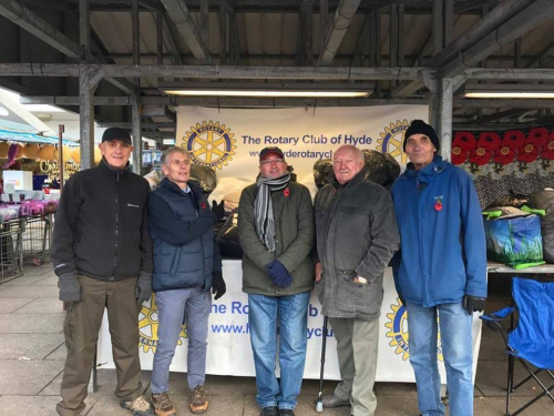Hyde Rotary Blanket Collection for Homeless