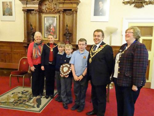 Junior Speaks Winners Wigan Rotary 2016