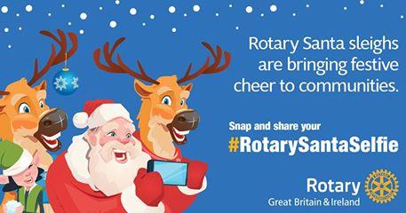 Rotary santa selfie