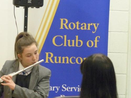 Winner  1 Runcorn Rotary Young Musician 2017