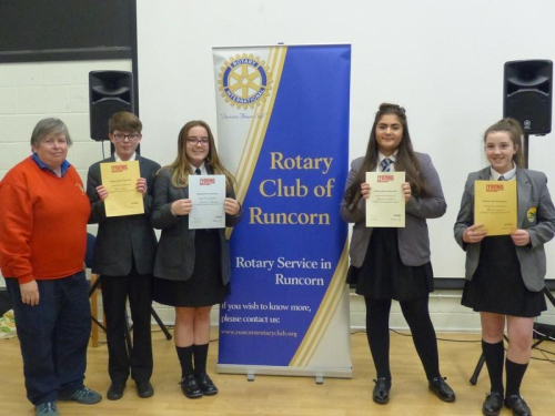 Runcorn Rotary Young Musicians 2017