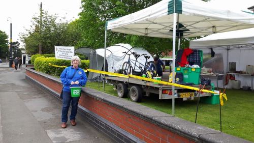 Alsager Rotary Static Bike 2017 1