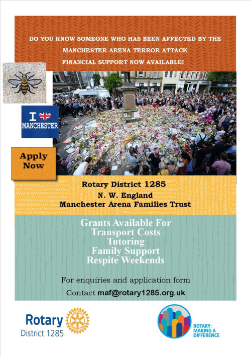 Rotary Manchester Arena Families Fund
