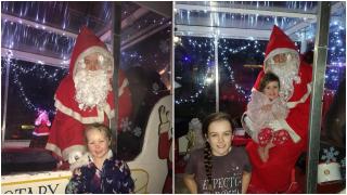 Astley Rotary Santa