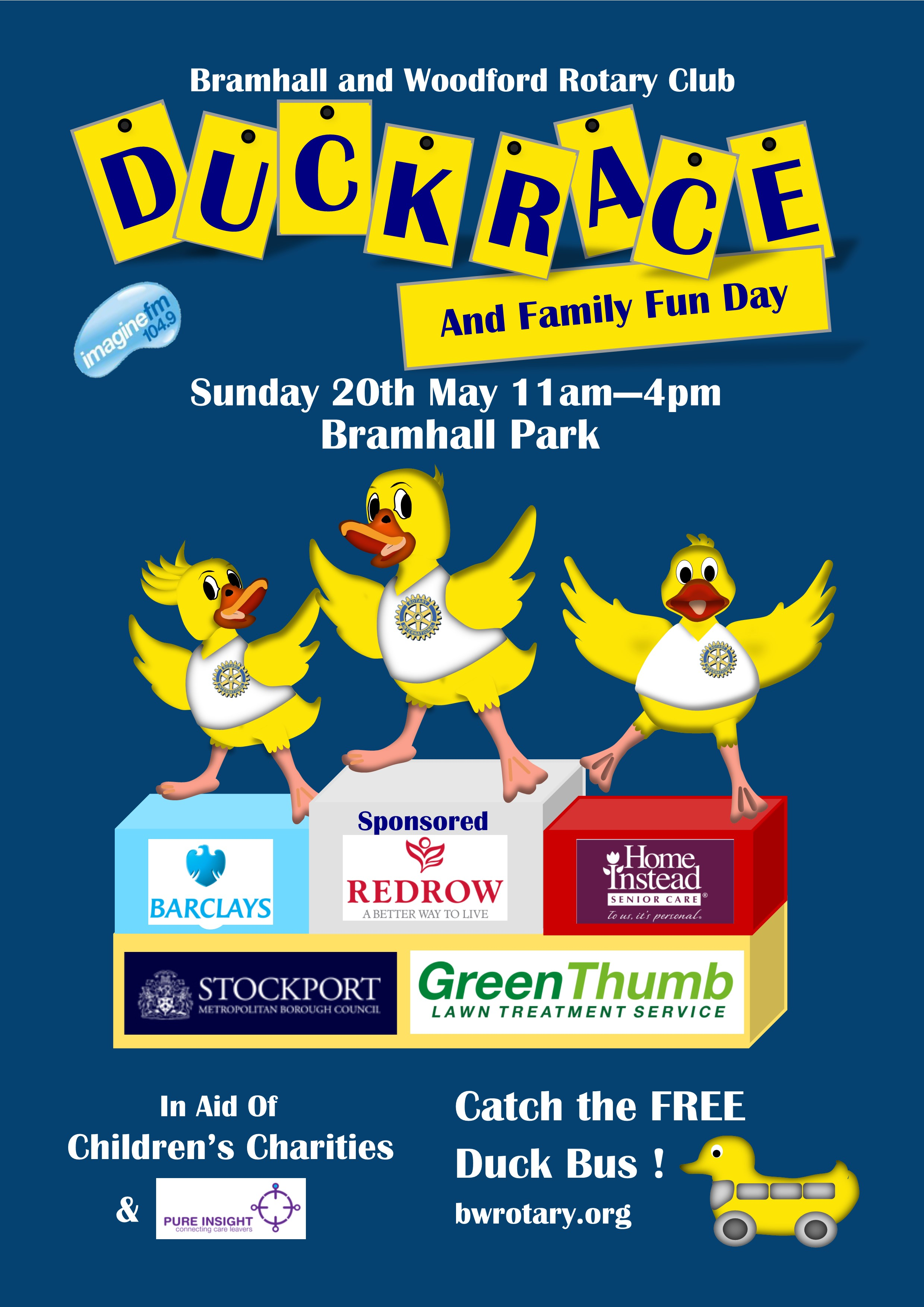 Bramhall & Woodford Rotary Club Duck Race and Family Fun Day
