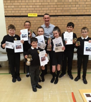 Onchan Rotary Chess Competition Winners
