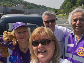Purple for Polio Grand Tour 4