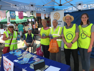 2018 CD Rotary Stall with Rtns.