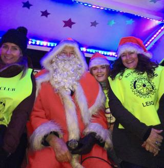 Leigh Santa Helpers